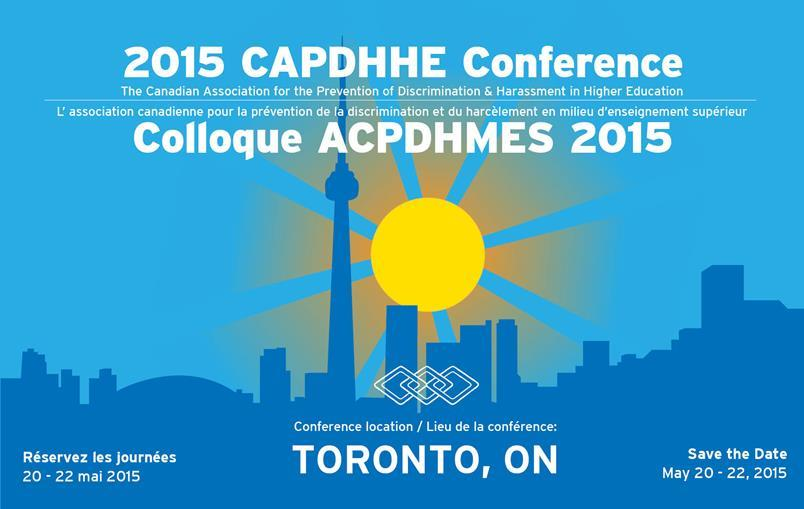 2015 CAPDHHE Conference/Colloque ACPDHMES 2015 Poster